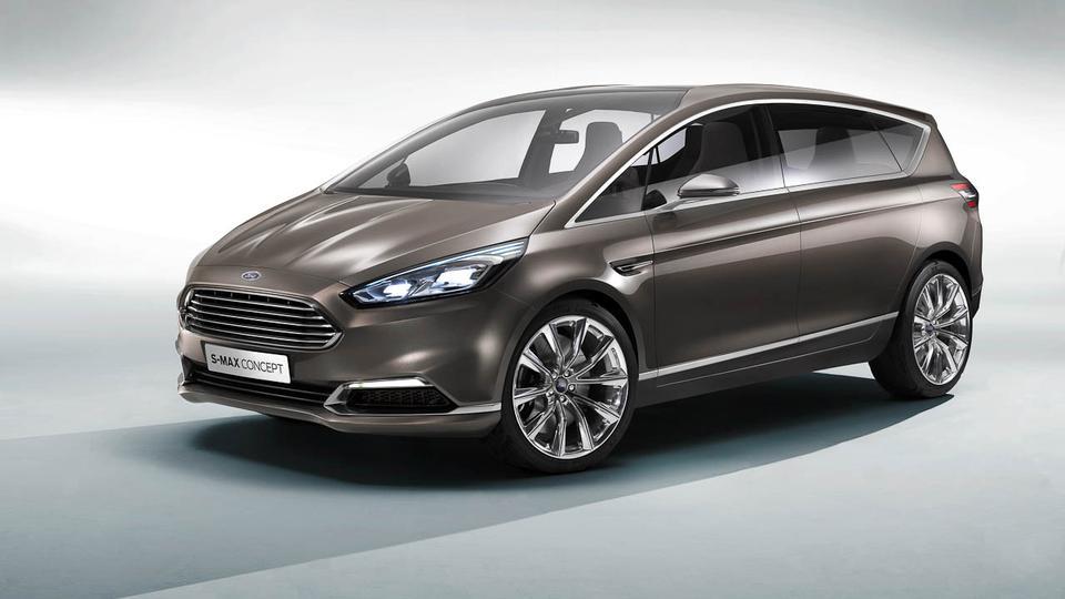 La nuova Ford S-Max fa la sua comparsa